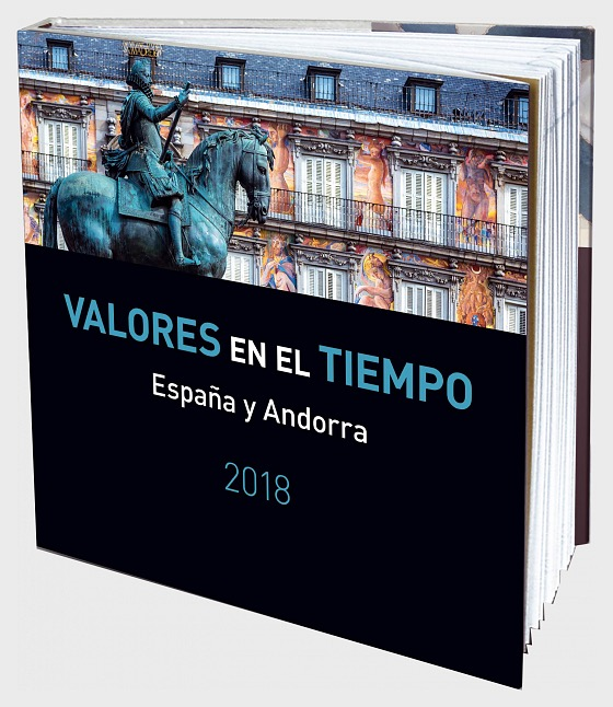 2018 Year Book Spain & Andorra - International English & Spanish - Year Collections