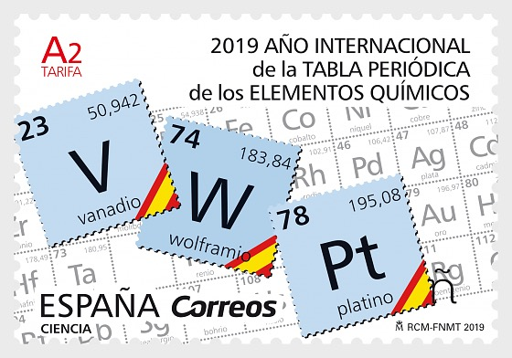 2019 International Year of the Periodic Table - Set