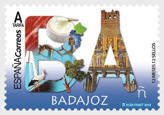 12 Months, 12 Stamps - Badajoz - Set