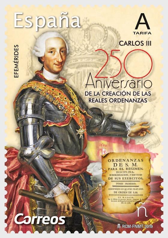 250ème anniversaire de la création des ordonnances royales de Carlos III - Séries