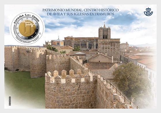 World Heritage - Ávila - Miniature Sheet