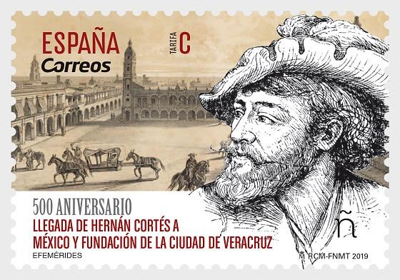 500 aniversario de la llegada de Hernán Cortés a México y la fundación de la ciudad de Veracruz - Series