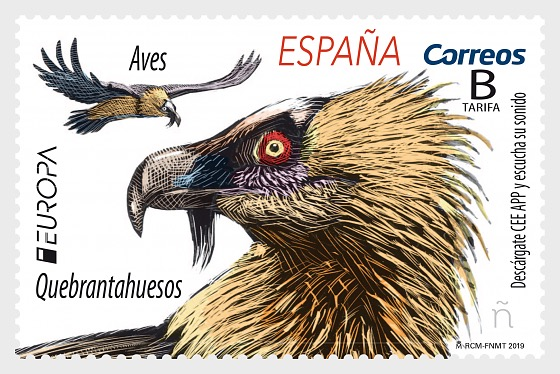Europa 2019 - Birds - Bearded Vulture - Set