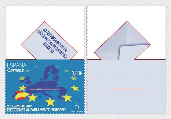40 Aniversario de las elecciones al Parlamento Europeo - Series CTO