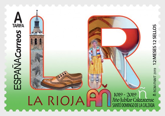 12 Meses, 12 Sellos - La Rioja - Series