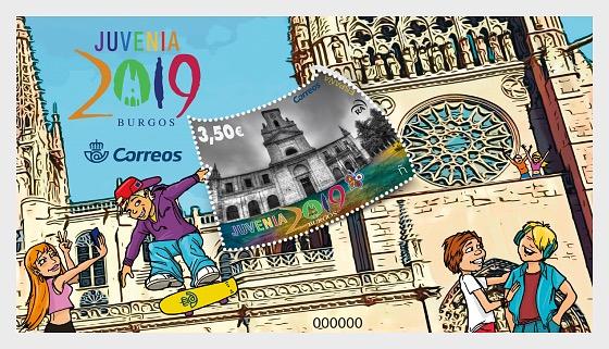 Juvenia 2019 - Burgos - Blocs feuillets