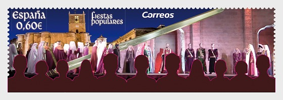 50th Anniversary of the Medieval Representation of the Kingdom of Najera - Set