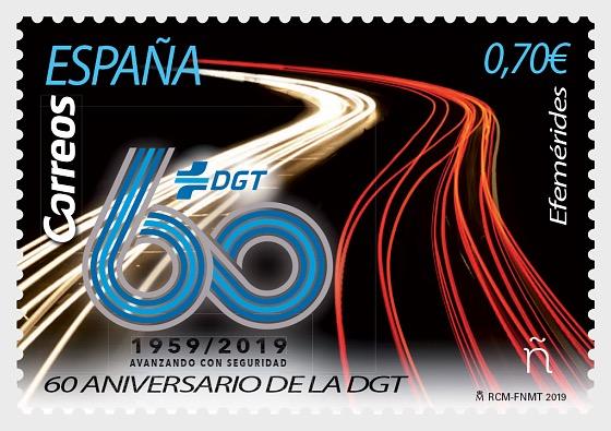 60th Anniversary of the DGT - Set CTO