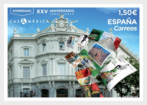 Efemérides, XXV Aniversario Casa América (1992-2017) - Series