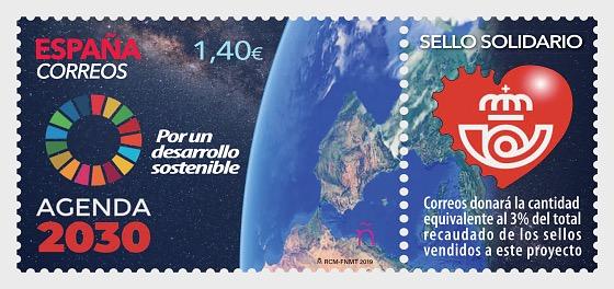 Solidarity Stamp, UN 2030 Agenda - Set