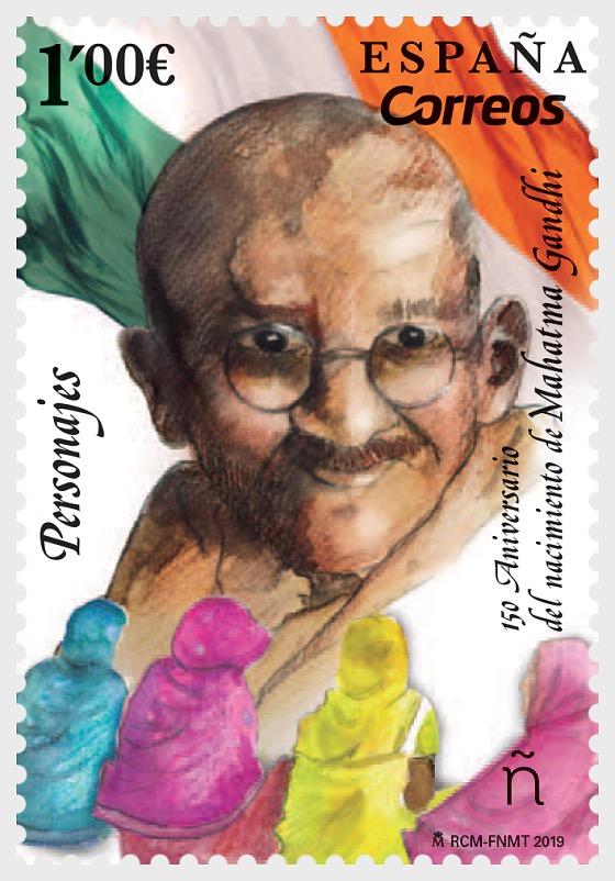 Characters, 150 Anniversary Birth of Mahatma Gandhi - Set