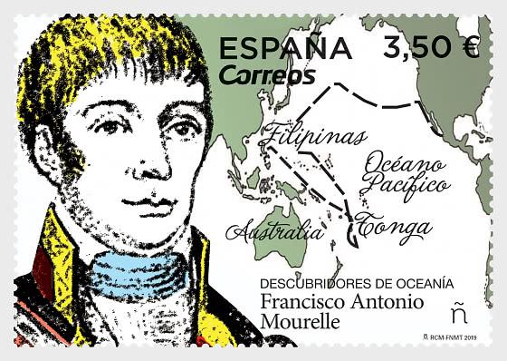 Discoverers of Oceania, Francisco Antonio Mourelle - Set