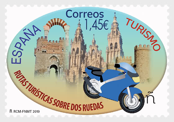 Tourism - Sightseeing Routes on Two or Four Wheels - Bike - Set