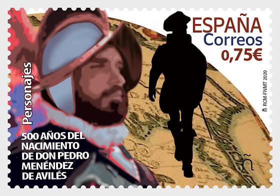Notable Figures - 500th Ann of the Birth of Pedro Menendez de Aviles - Set
