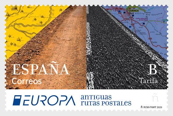 Europa 2020 - Ancient Postal Routes - Set