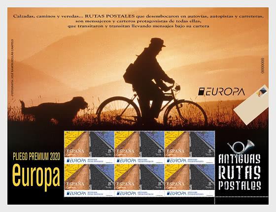 Europa 2020 - Alte Postwege - Bogenserie