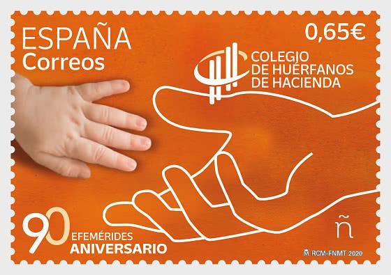 90 Aniversario Colegio De Huérfanos De Hacienda - Series