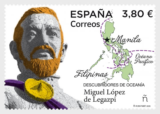 Discoverers Of Oceania - Miguel Lopez De Legazpi - Mint - Set