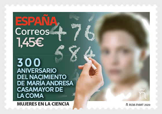 Women In Science - Maria Andresa Casamayor De La Coma - Mint - Set