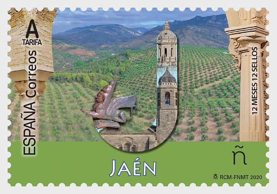 12 Months 12 Stamps - Jaen - Mint - Set