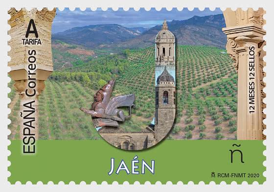 12 Months 12 Stamps - Jaen - CTO - Set CTO