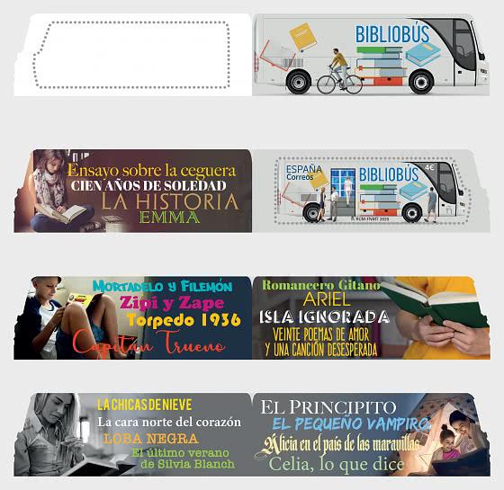 The Bookmobile - Mint - Set