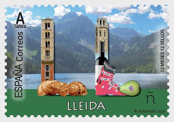 12个月12邮票-莱里达 - 套票