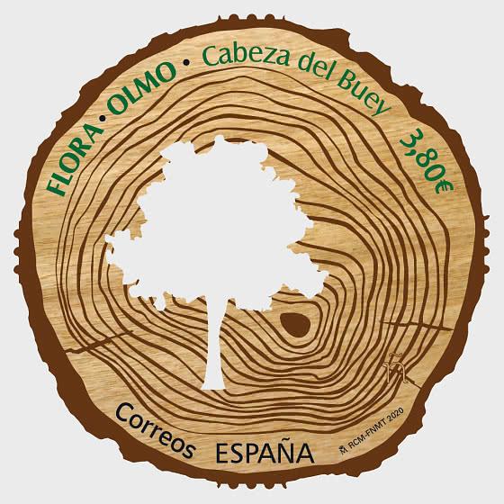 Flora - Elm - Cabeza De Buey - 套票