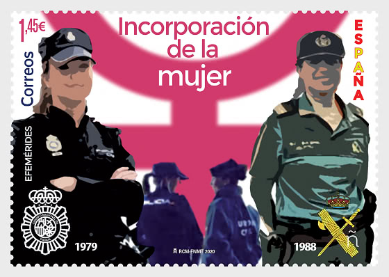 Inclusion Of Women In The National Police And Civil Guard - Mint - Set