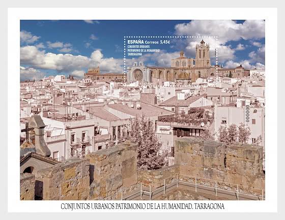 城市遗址-塔拉戈纳 - 小型张