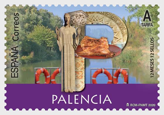 12 Monate 12 Briefmarken - Palencia - Serie