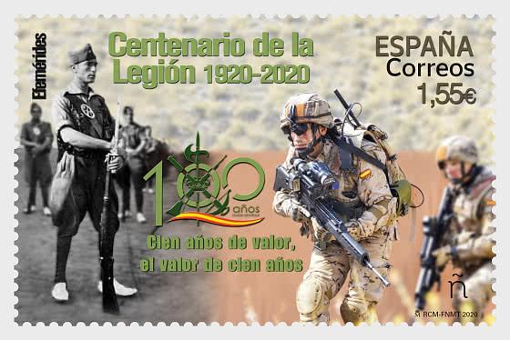 Centenary Of The Spanish Legion 1920-2020 - Mint - Set