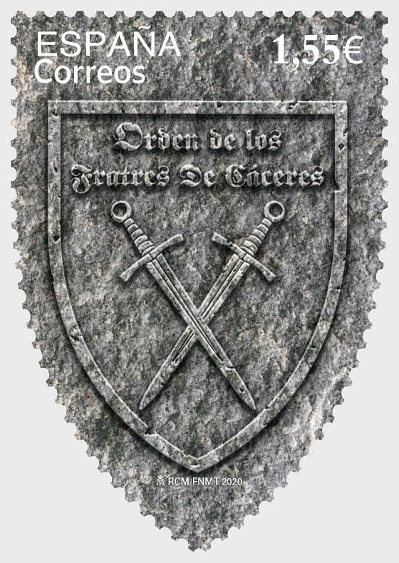 Orden De Los Fratres De Cáceres (1169-2019) - Series