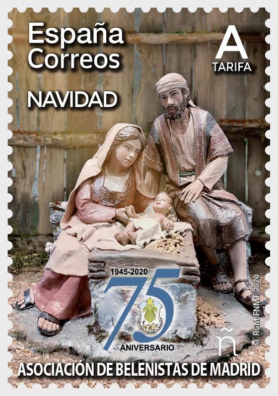 Christmas 2020 - Nativity Scene Association - Mint  - Set