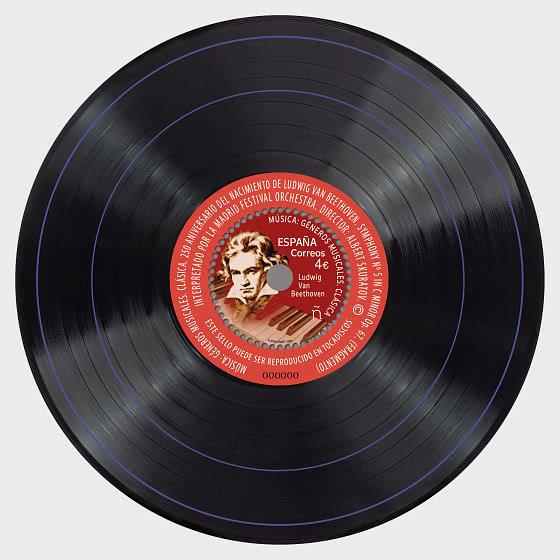 音乐流派-古典 - 小型张