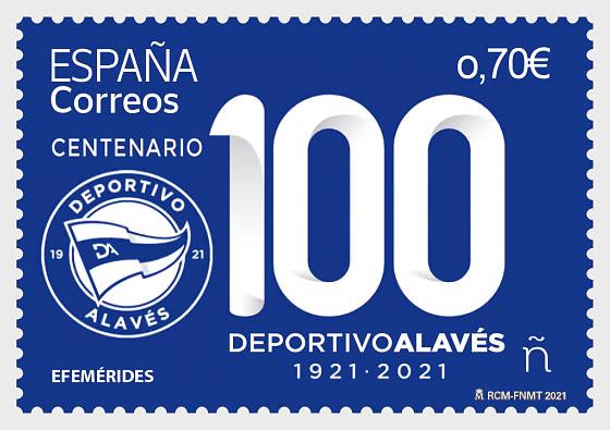 Centenario Del Deportivo Alavés - Series CTO