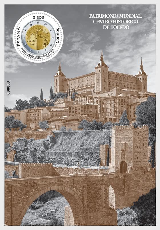Historical Center Of Toledo - Mint - Miniature Sheet