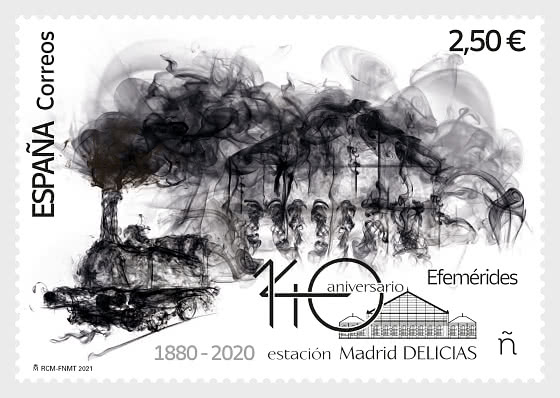 140th Anniversary of Madrid Delicias Station - Mint - Set