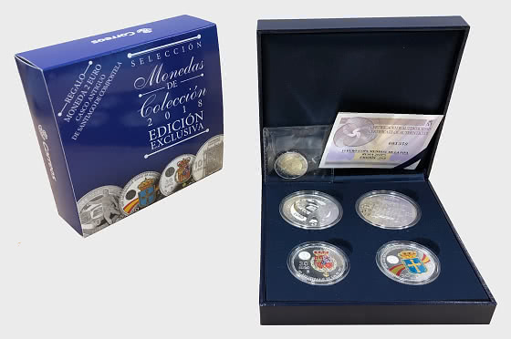 10% DISCOUNT - Coin Collection 2018 - Coin Year Set