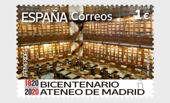 Bicentennial Of Ateneo De Madrid - Mint - Set