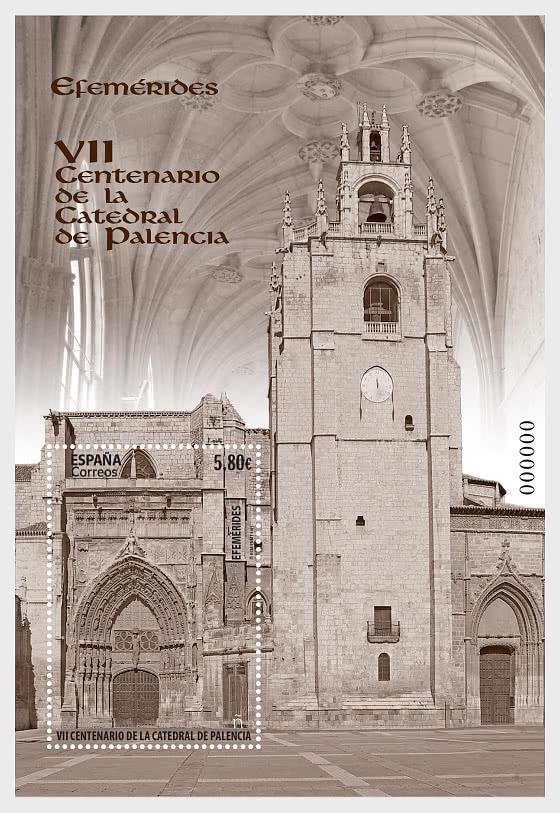VII Centenaire De La Cathédrale De Palencia - Blocs feuillets