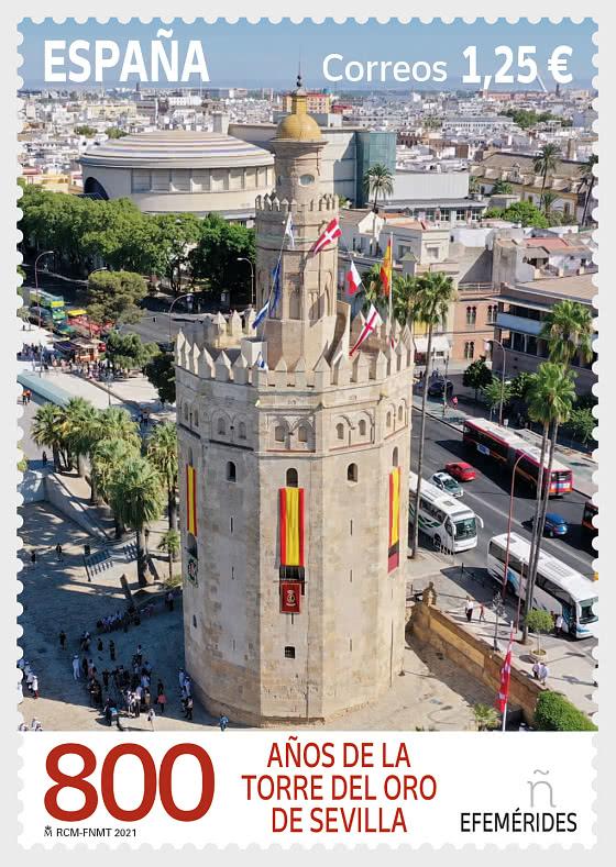 VIII Centenaire De La Torre Del Oro À Séville - Séries