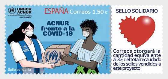 UNHCR Against Covid-19 - Mint - Set