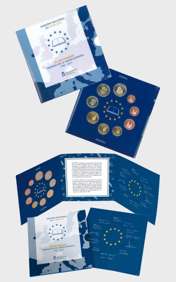 20% DISCOUNT - Euroset 2017 - Coin Year Set