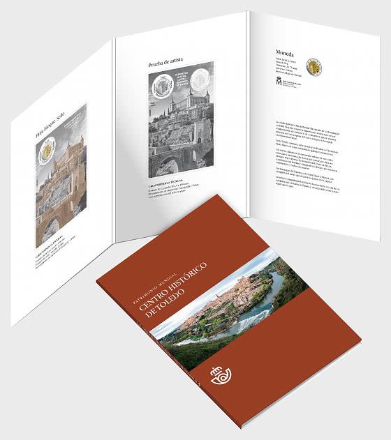 10% DISCOUNT - Heritage Folder Toledo - Collectibles