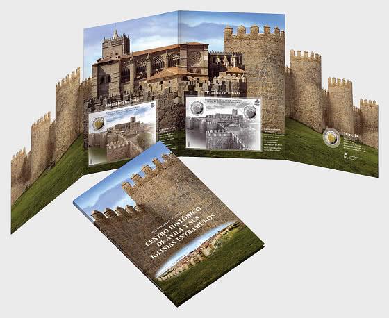 10% DISCOUNT - World Heritage - Ávila - Folder - Collectibles