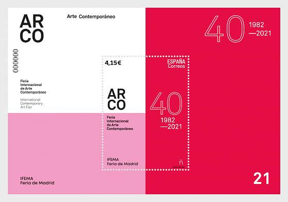 ARCO Salon International d'Art Contemporain à Madrid - Blocs feuillets