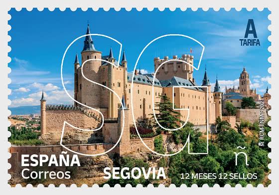 12 Months 12 Stamps - Segovia - Mint - Set