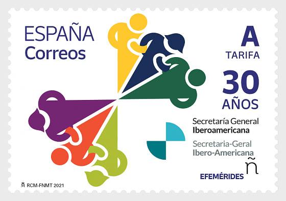 30 Years Of The Ibero-american General Secretariat - Mint - Set