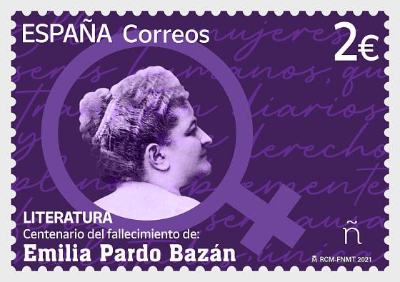 Centenaire De La Mort D'emilia Pardo Bazán - Séries